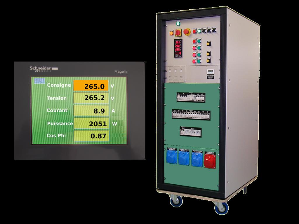 Variable transformer power supplies